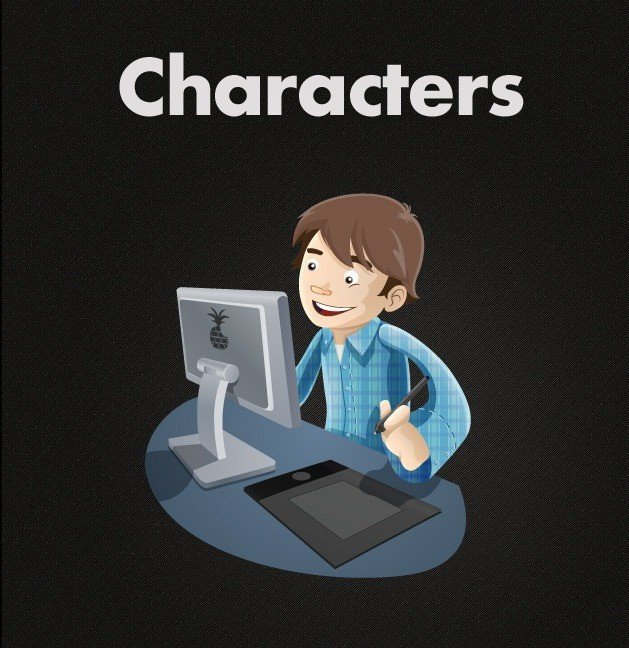 Free Vector Characters - hooed com