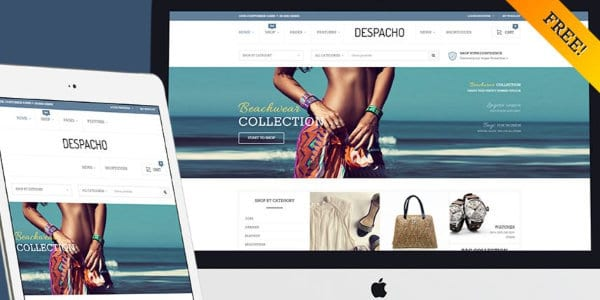 Despacho Free Wordpress Theme Hooed Com